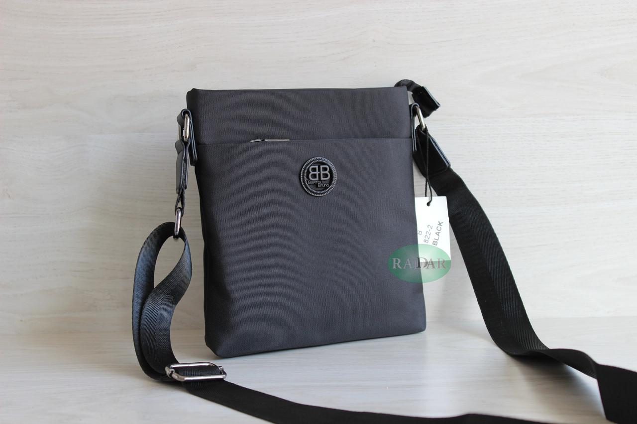 Мужская тканевая сумка через плечо ВВ