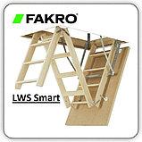 Чердачная лестница 60х120х280 FAKRO LWS SMART тел.WhatsApp: +7 701 100 08 59, фото 4