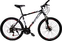 Велосипед BHAWK (26*19, Черно/красный) КА008