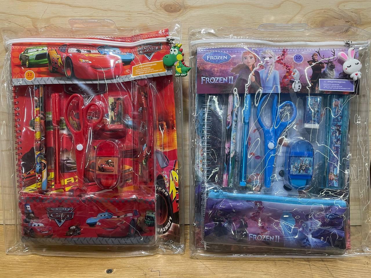 D17-072 Набор для творчества 10 предметов в пакете разые виды 36*27см