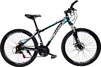 Велосипед BHAWK (26*15, Черно/красный-?ара-?ызыл)
