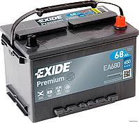Аккумулятор для легковых автомобилей 12 V EXIDE PREMIUM EA680
