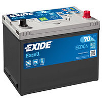 Аккумулятор для легковых автомобилей 12 V EXIDE EXCELL EB704