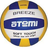 Мяч волейбольный Atemi, BREEZE, синтетическая кожа Microfiber, син.-жёлт.-бел