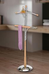 Напольная вешалка стойка для костюма ленивый слуга немой слуга GC0521, фото 2