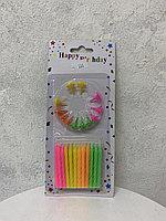 """Свечи """"Happy Birthday"""""""