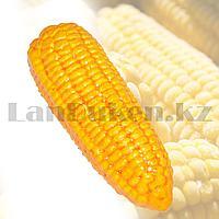 Искусственная кукуруза декоративный муляж маленький желтый 14x4 см
