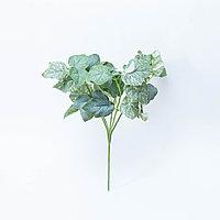 Плющ зеленый, тканевый