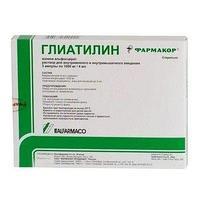 Глиатилин р-р 1000мг/4мл
