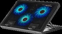 Defender Охлаждающая подставка для ноутбука Defender NS-501 15.6-17, 2USB, 3 вентилятора