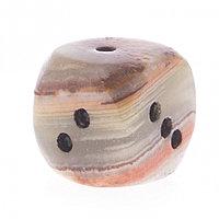 Кубик игральный камень оникс 1,9 см (0,75)