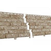 Фасадные панели Stone House Кварцит светло-бежевый