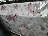 Клеенка скатерть для стола (ширина 140 см) на флизилиновой основе