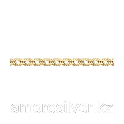 Браслет SOKOLOV серебро с позолотой, без вставок, ромб тройной 985220602 размеры - 20
