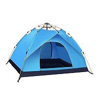 Палатка для кемпинга Sky Blue на 3-4 человек (Модель ST-006)