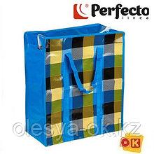 Сумка хозяйственная на молнии 40х45х20 см, PERFECTO LINEA