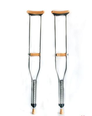 Костыли алюминиевые подмышечные подростковые КАП-02 ТМ с УПС Антилед, 1120-1320