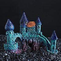 Декор для аквариума 'Замок', 15 х 7,5 х 12,5 см