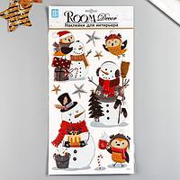 Декоративная наклейка Room Decor 'Новогодний стиль 2' 24х41см