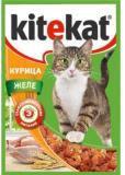 Kitekat с Курицей в Желе Китикэт Консервы для кошек, пауч 85г