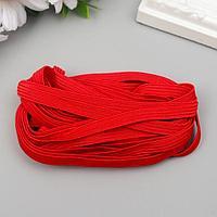 Резинка декоративная для скрапбукинга 'Fabrika Decoru' плоская 7 мм, 5 м, красная