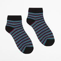 Носки женские махровые укороченные 2797 цвет чёрный, р-р 23-25