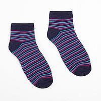 Носки женские махровые укороченные 2797 цвет синий, р-р 23-25
