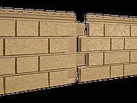 Фасадные панели Stone House S-Lock КЛИНКЕР горчичный