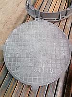 Чугунный люк тяжелый тип Т (С250)