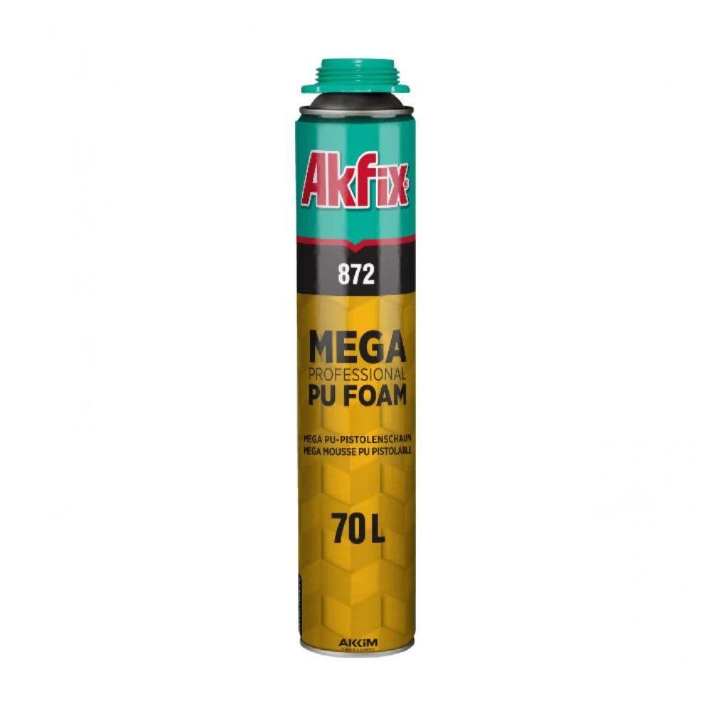 Професиональная монтажная пена MEGA 850ml Akfix
