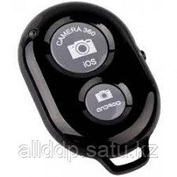 Bluetooth пульт (блютуз) для телефона, пульт для селфи черный