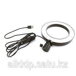 Кольцевая LED лампа USB 16см для селфи RING LIGHT