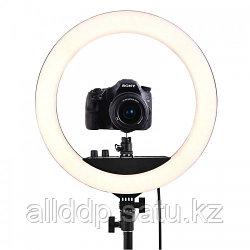 Кольцевая LED лампа RL-18 II 55W USB WiFi Bluetooth (45см) (3 крепления) (пульт) (сумка)