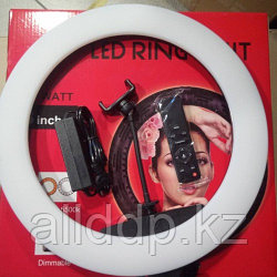 Кольцевая LED лампа 18-INCH (45см) (1 крепление) (сумка)