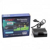 Цифровой ресивер DVB-T2 9956 с поддержкой wi-fi-dc 5v mikro