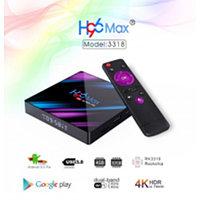 Приставка Smart Tv Box H96 MAX (RK3318 4+64 Android 9.0)
