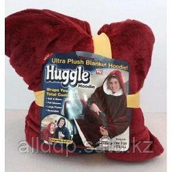 Толстовка плед с капюшоном Huggle Hoodie