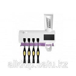 Диспенсер для зубной пасты и щеток автоматический Toothbrush sterilizer Wj31