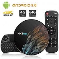Приставка Smart Tv Box HK1 max (RK3328 4+64 Android 9.0)