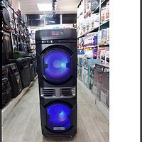 Акустическая система BM100 музыкальная колонка 200 Вт с радиомикрофоном