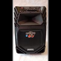 Мощная колонка Temeisheng A 12-8 на аккумуляторе с 2 микрофонами