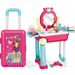 Игровой набор Трюмо детское в чемодане 678-208B