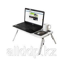 Подставка-столик с охлаждением для ноутбука E-Table
