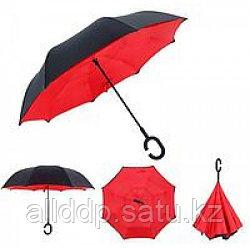 Зонтик umbrella КРАСНЫЙ № F08-F