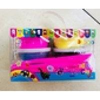 Тесто для лепки (воздушный пластелин) в коробке с ручкой 6 шт,6 цветов RV-271