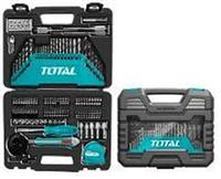 """THKTAC011182 - """"ТОТАL"""" Универсальный набор свёрел и бит 118шт."""