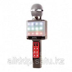 Микрофон-караоке Bluetooth WS-1828 LED изменение голоса