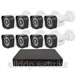 Комплект видеонаблюдения UKC DVR KIT-945 8ch Gibrid AHD (8 камер)