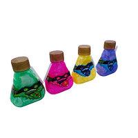 Игрушка слайм,лизун Ниндзя в треугольной бутылке с трубочкой RV-205