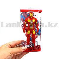 Фигурка супергероя Jastice hero шарнирная 14 см Мстители Железный человек